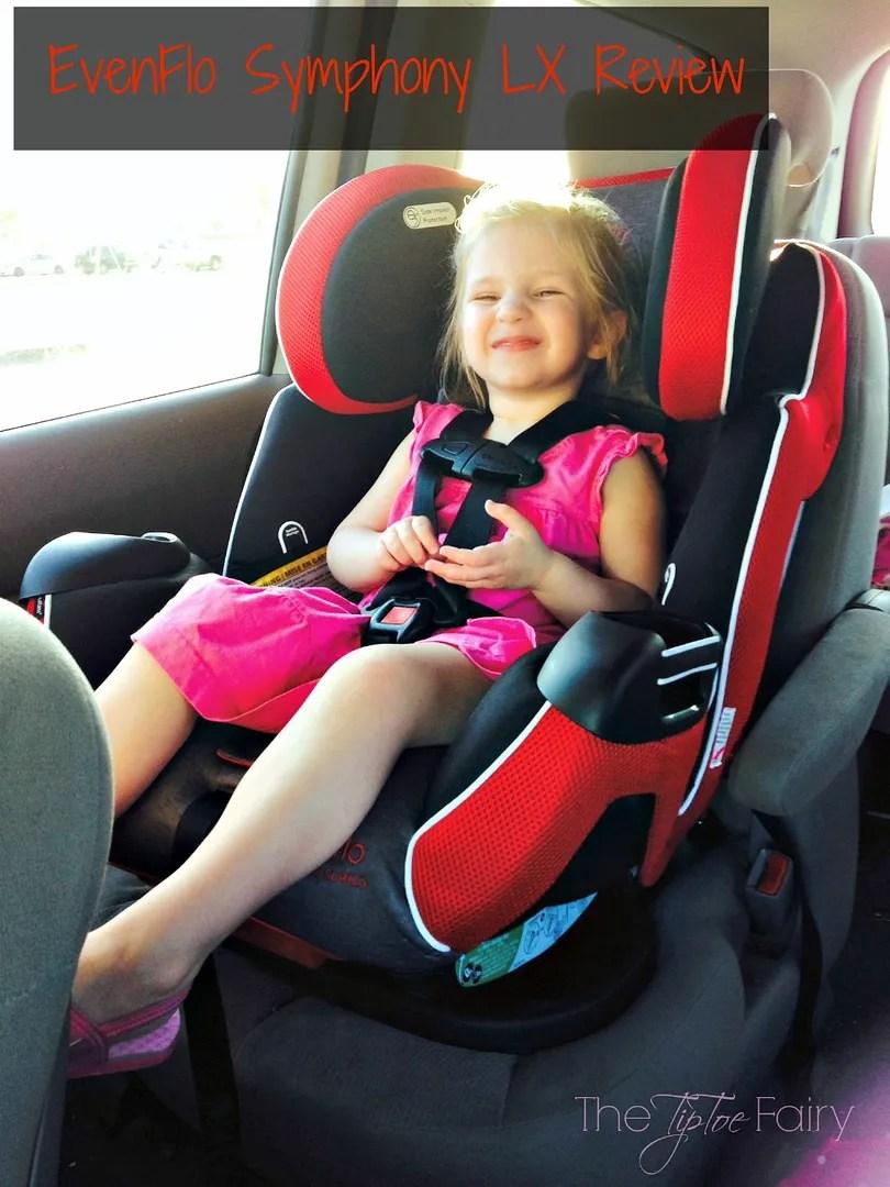 #EvenfloPlatinum Symphony LX Car Seat Review | The TipToe Fairy