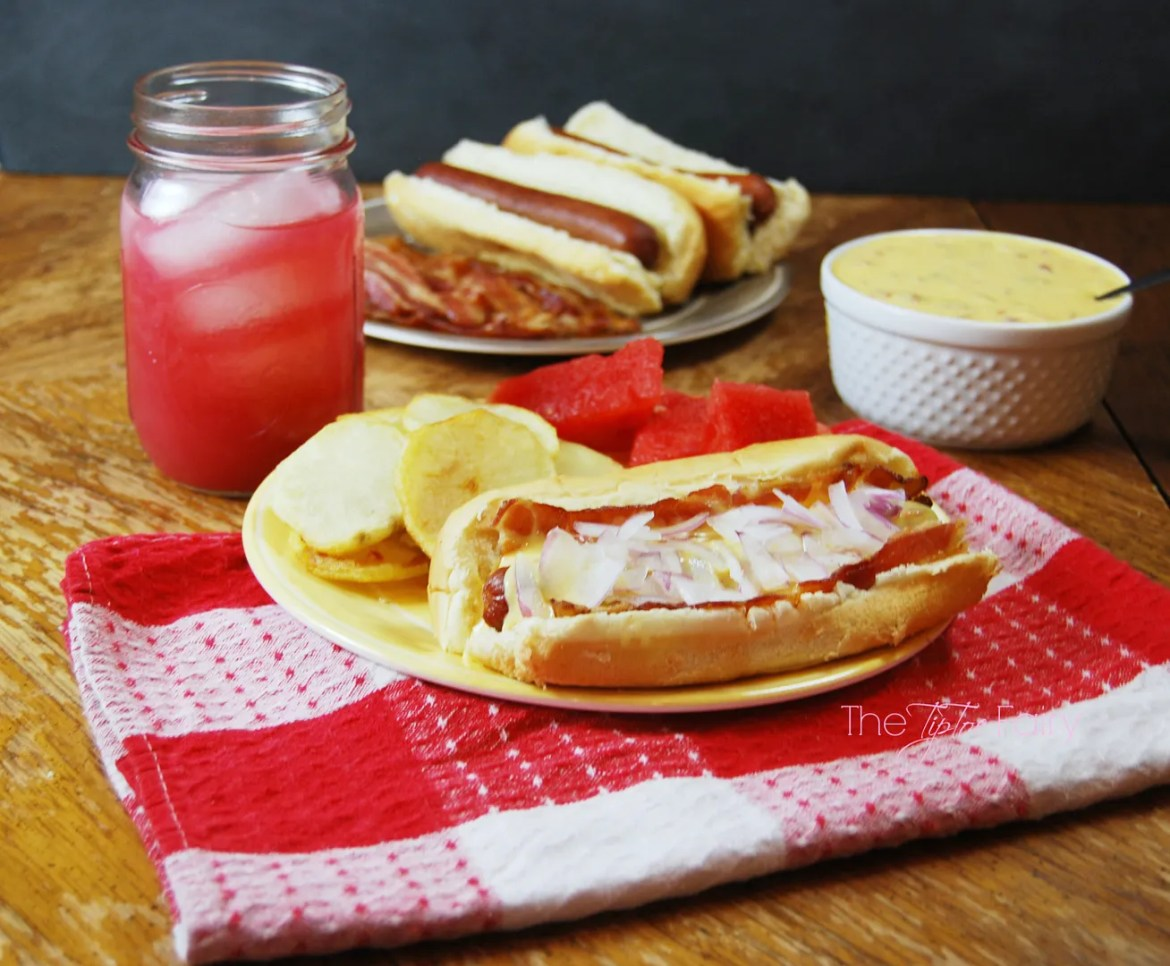 Easy Summer Dishes with Park's Finest™ Frankfurters from Ball Park® #StartYourGrill #CollectiveBias #shop | The TipToe Fair