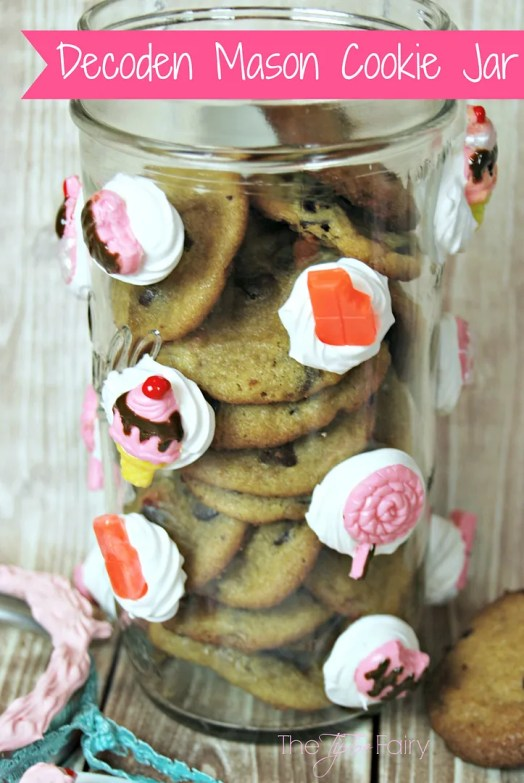 Mod Podge Decoden Cookie Jar & Phone Case Tutorial | The TipToe Fairy #plaidcrafts #modpodge