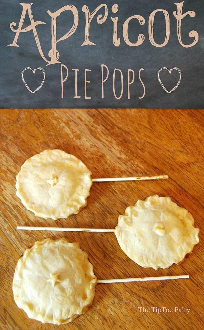 Apricot Pie Pops