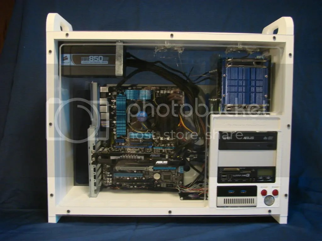 Front View of the Ingenematic Visitron our new custom PC