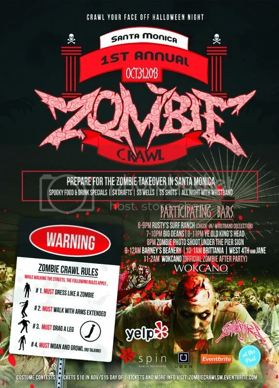 2013 1st Annual Zombie crawl