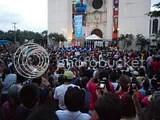 La gentes aglomerada