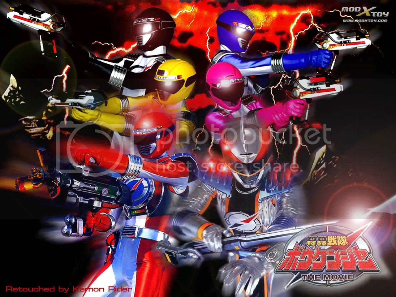 Boukenger x6 Pictures, Images and Photos