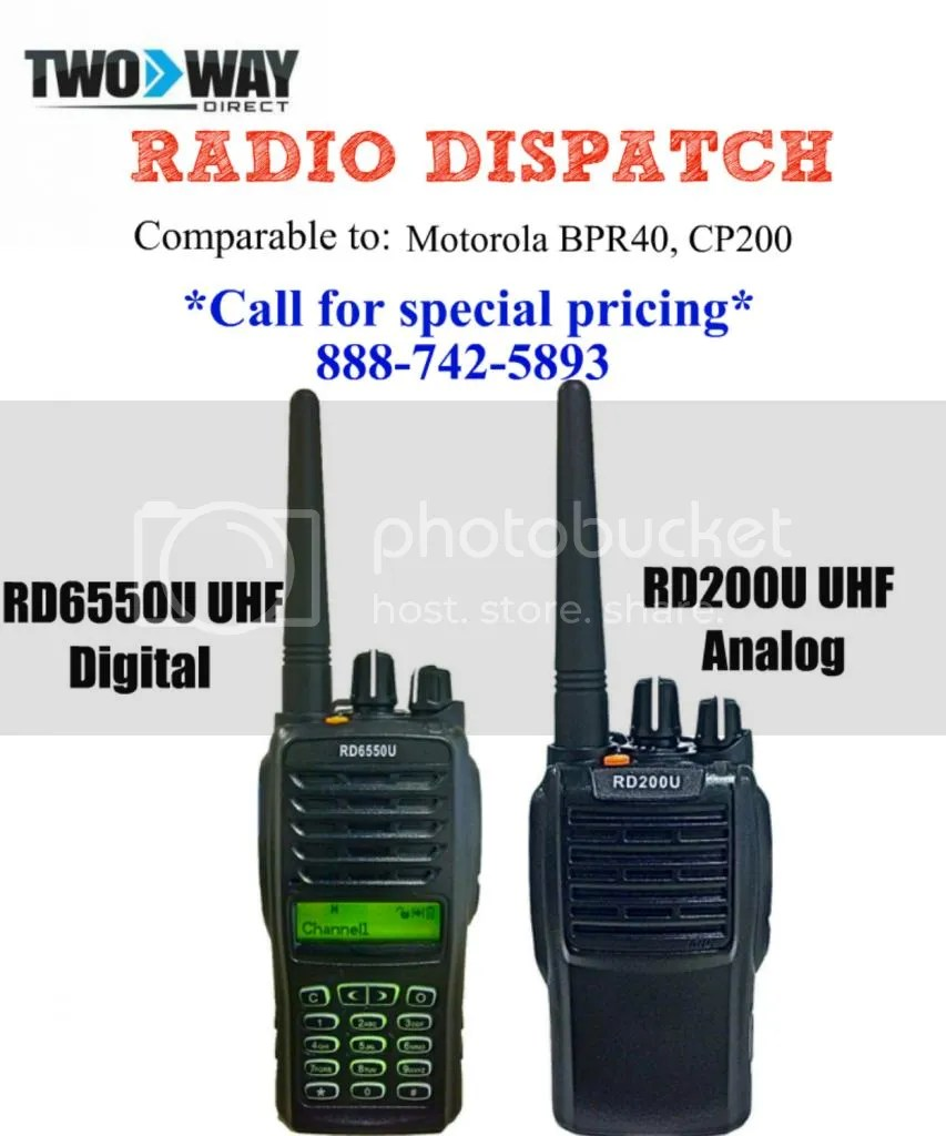 2 way radio on iphone