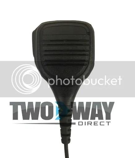 two way radio microphone