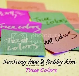 Bobby Kim, Seo Sung Hee - Project True Colors Digital Single Album Cover