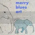 Merry Blues Art