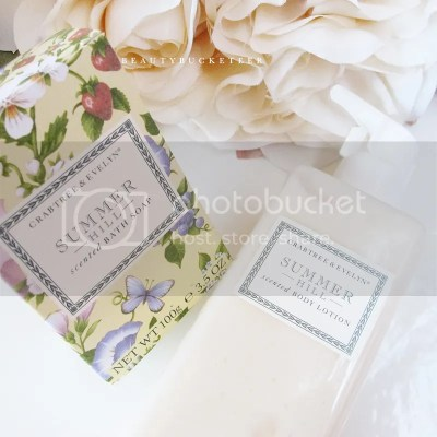 "Crabtree & Evelyn ""Summer Hill"" Collection"