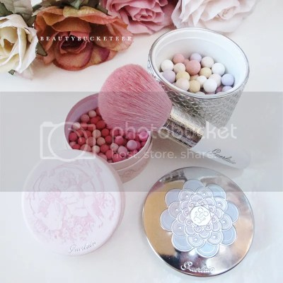 "Guerlain Meteorites Perles de Blush ""Angelic Radiance"" & Guerlain Meteorites Pearls of Powder ""02 Clair"""