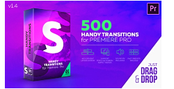 VideoHive: Handy Transitions For Premiere Pro (Premiere Pro Project Files)