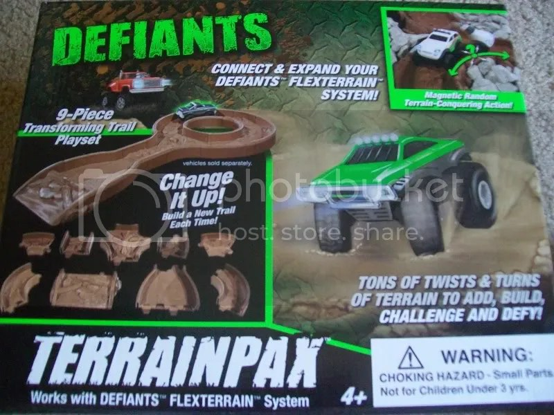 Defiants 4x4 toy trucks - Terrain Pax