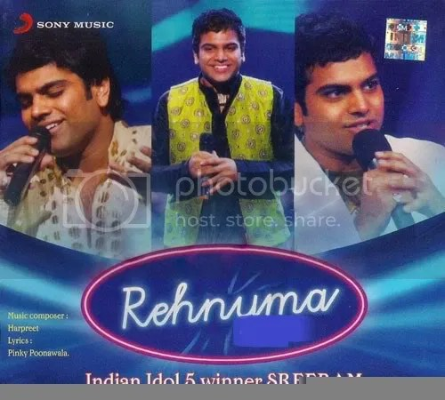 SREERAM - REHNUMA (INDIAN IDOL) HINDI ALBUM MP3 AUDIO SONGS FREE DOWNLOAD