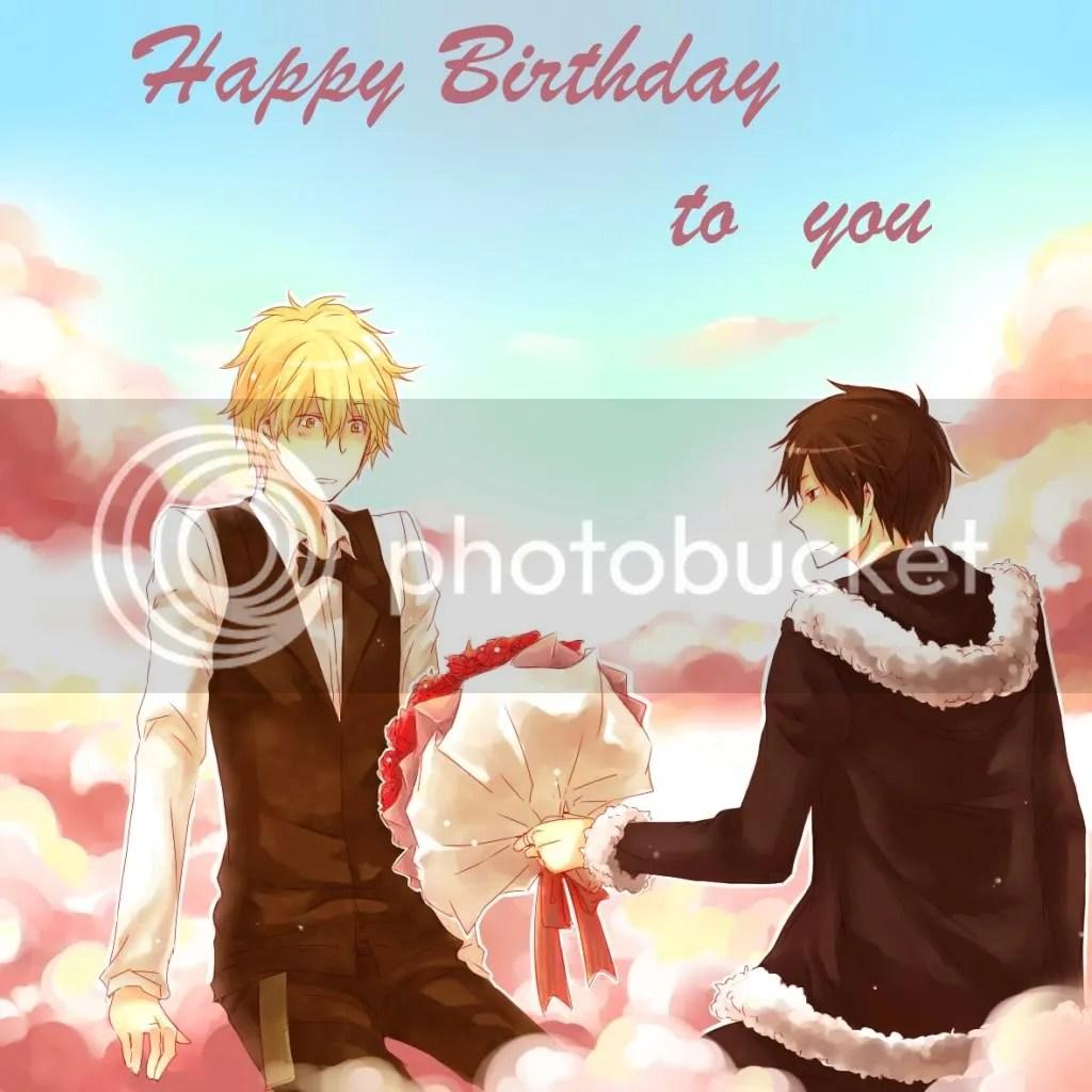 Happy Birthday Shizuo Heiwajima Naruzenmaru LiveJournal
