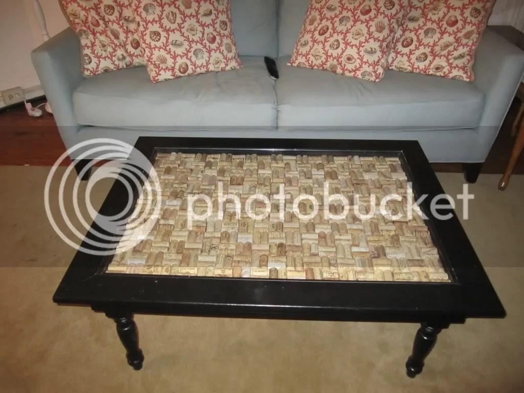 Haymarket Designs: Put A Cork In It: DIY Cork Shadow Box Table