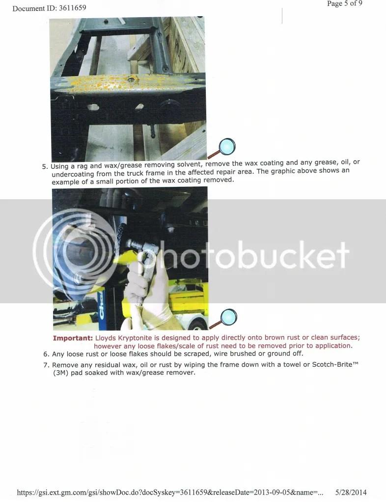 gm frame wax repair | Siteframes.co