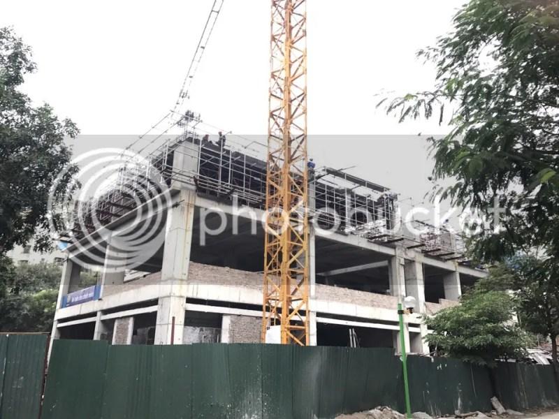 tiến độ cập nhật Chung cư South Building Pháp Vân Tứ Hiệp