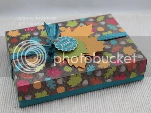 Schachtel Herbstzauber