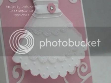 Rock des Hochzeitskleides