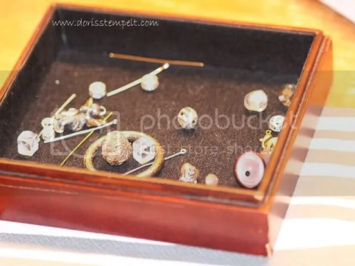 Perlen aussuchen