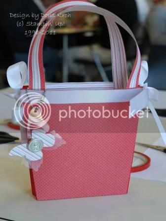 Tasche mit Designer Papier