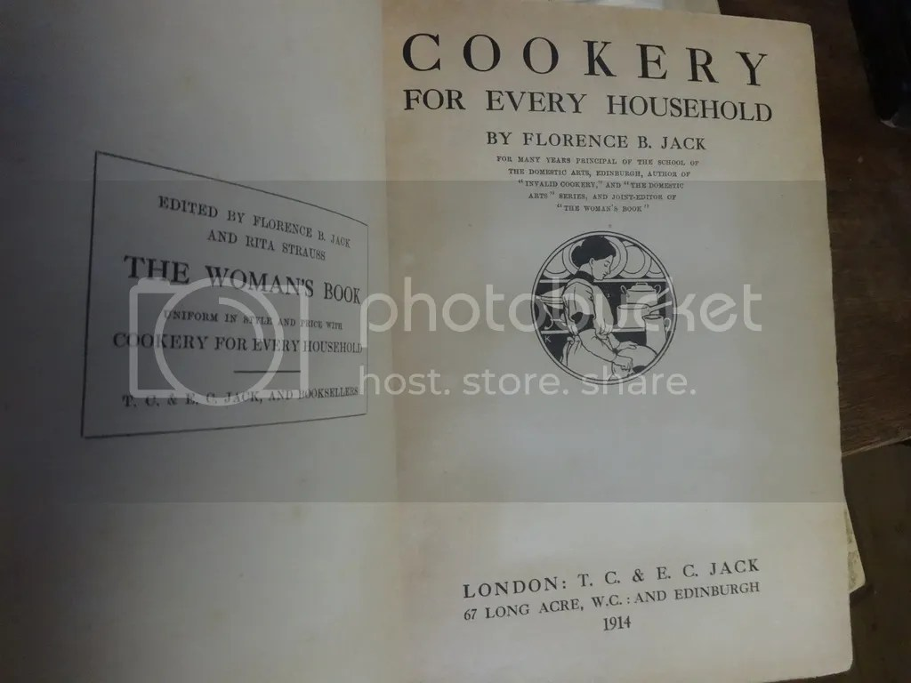 Historical cookbooks! Also, 'The Woman's Book.'