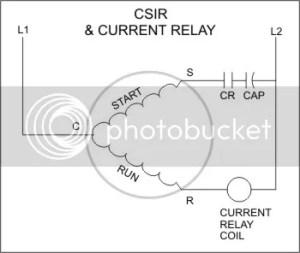 Refrigeration: Refrigeration Current Relay
