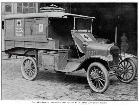 U.S. Army Ambulance, 1918