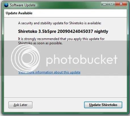 Firefox 3.5 Beta 5 Pre