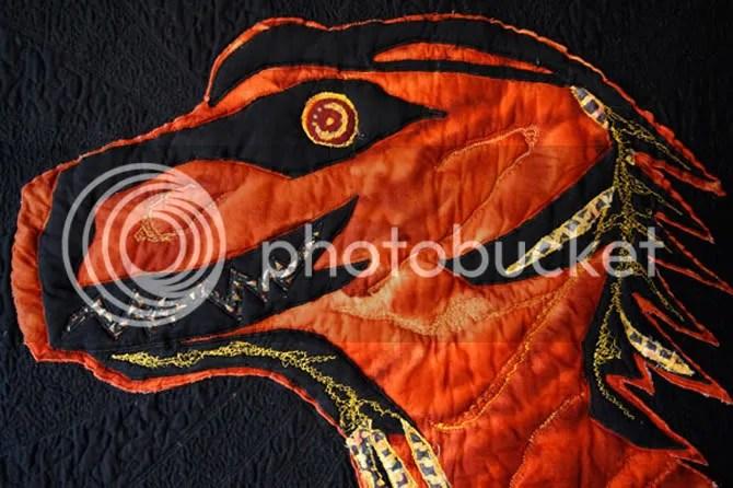 Mitchel Bakers (lizard Wrangler) Mozilla Quilt