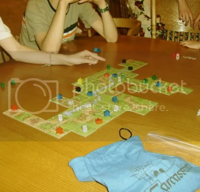 Carcassonne and players