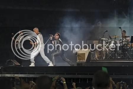 U2 360 tour en Turín