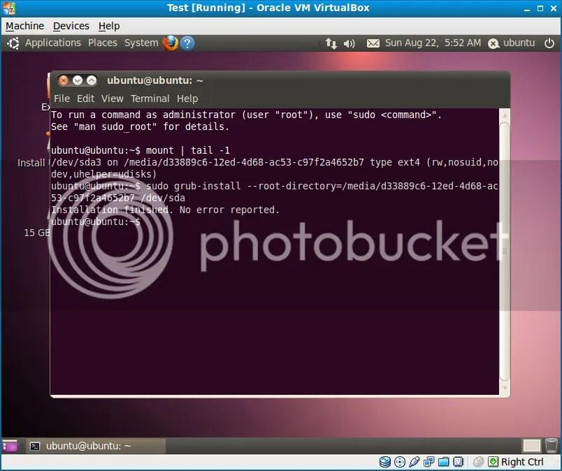 Khôi phục lại Grub của Ubuntu sau khi cài lạiWindows (3/3)