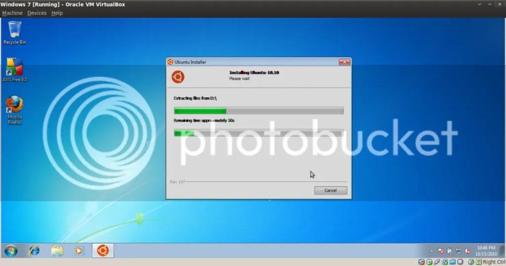 Hướng dẫn cài đặt Ubuntu nằm trong Windows bằng Wubi (4/6)