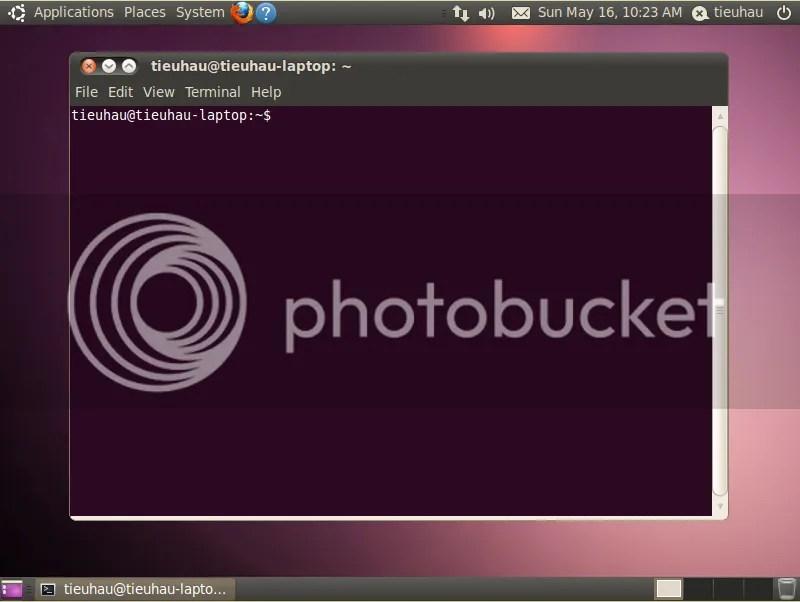 Sử dụng giao diện dòng lệnh trong Ubuntu (3/3)