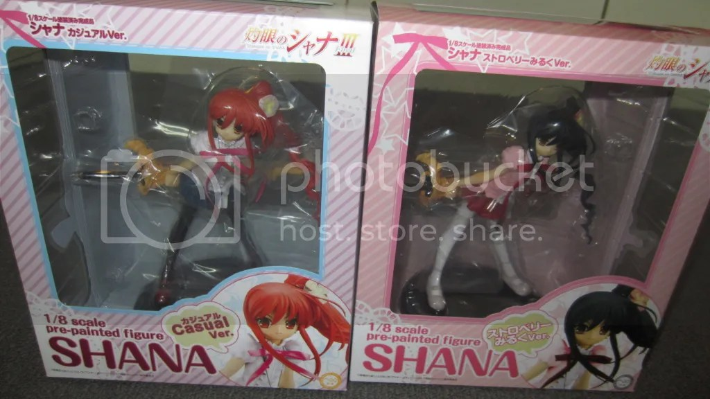 Shakugan no Shana III - Chara-Ani 1/8 PVC Casual Ver. & Strawberry Milk Ver.