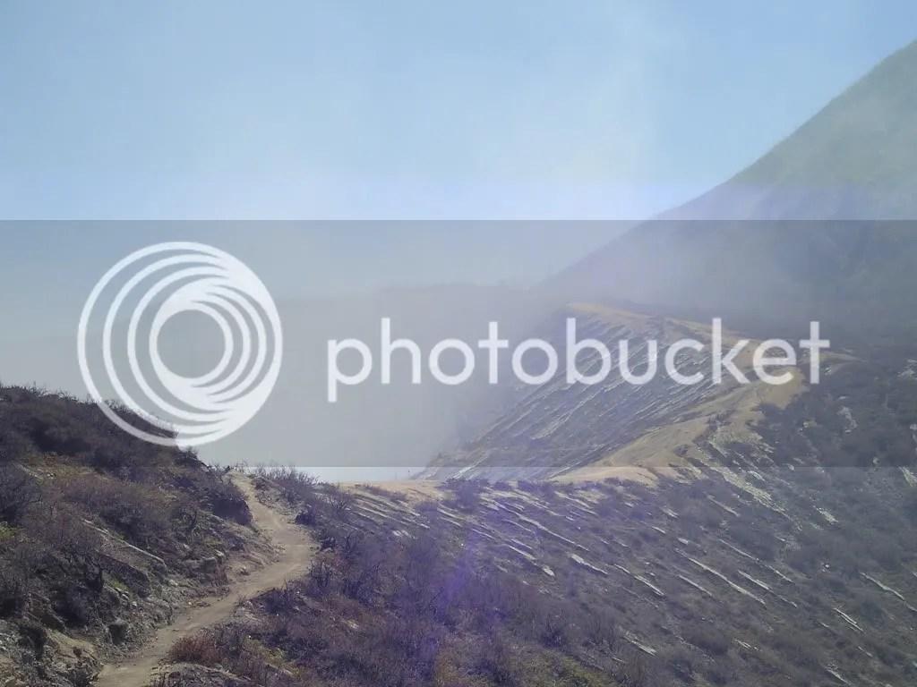 kawah ijen 1, Kawah Ijen dari Tepi Kaldera