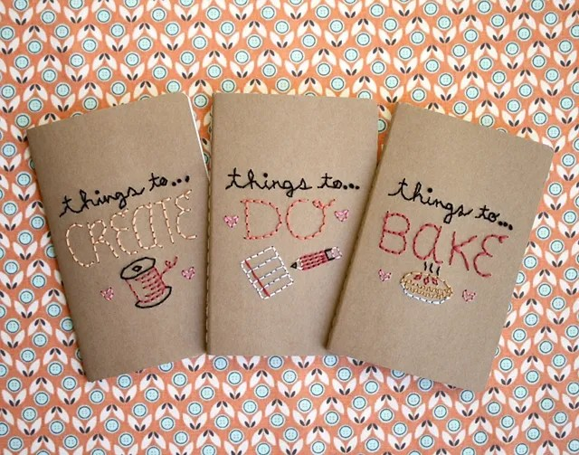 Pretty Things - Pretty Notebooks by One Sheepish Girl