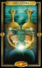 2 of Cups Reversed