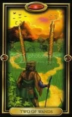 2 of Wands