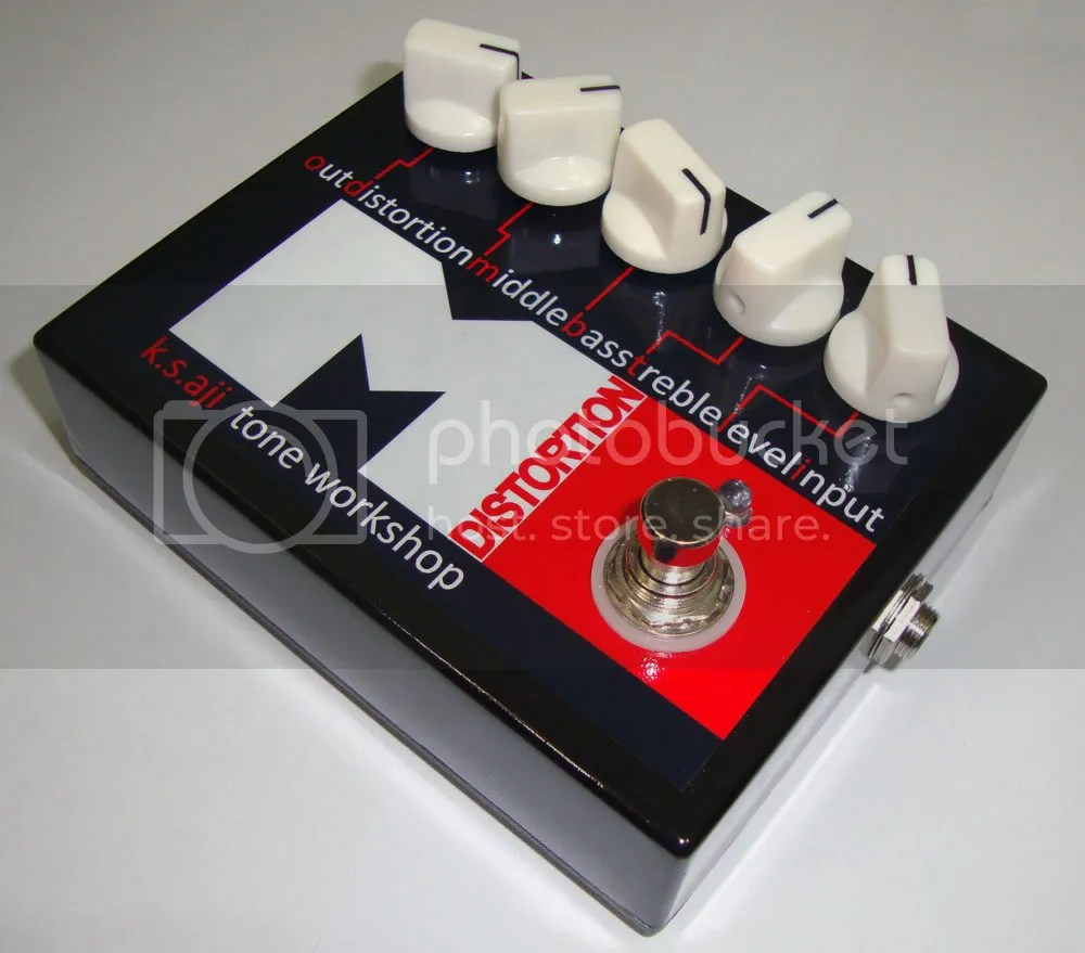 Mass destruction - Metal distortion pedal!