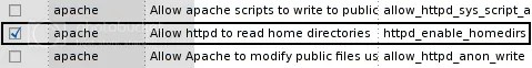 SELinux -- Allow http to read user home directories