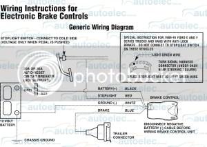 ELECTRIC BRAKE CONTROLLER TEKONSHA PRIMUS IQ  WIRING | eBay