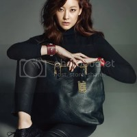 "Oh Yeon Seo for Longchamp's new line ""LM CUIR"" via Cosmopolitan [October.2012]"