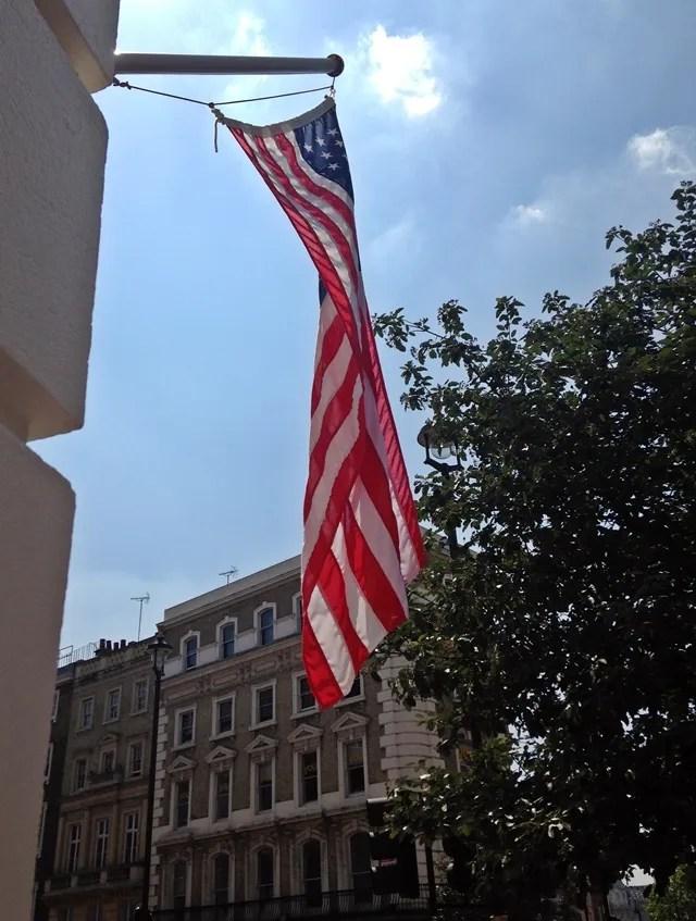 Five Guys USA Flag