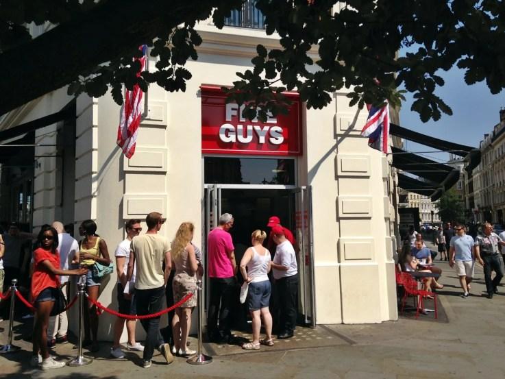 Five Guys Burger London