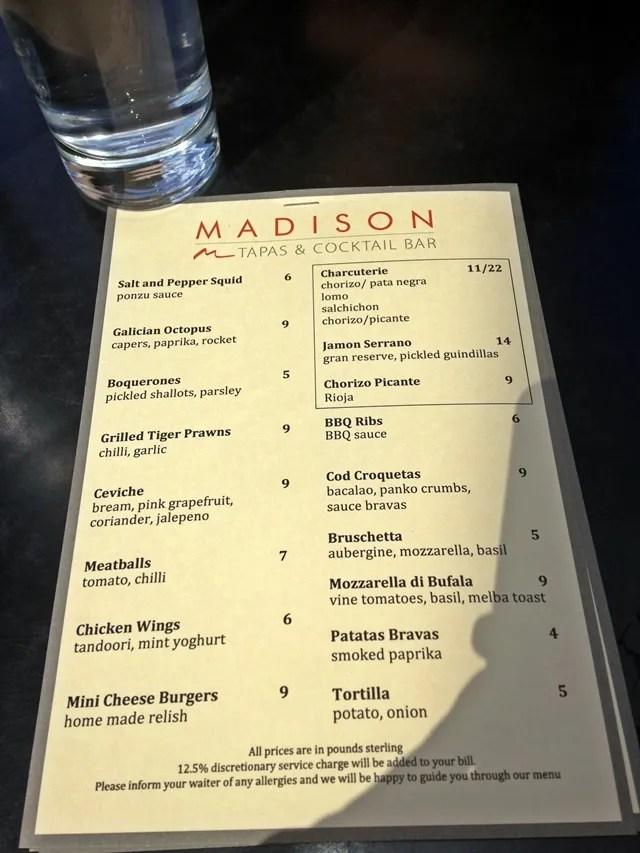 Madison St Pauls London