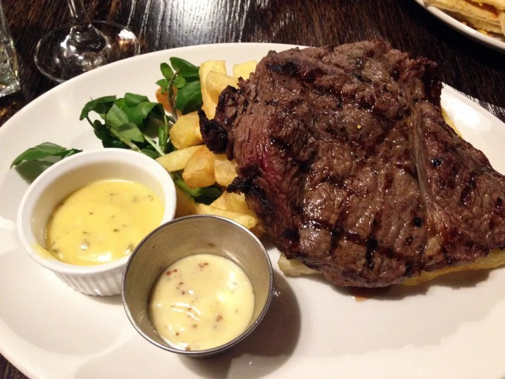 Rump Steak Grill - SMITHS Spitalfields - The P-Ho Diaries