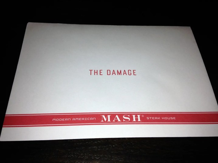 MASH London THE DAMAGE