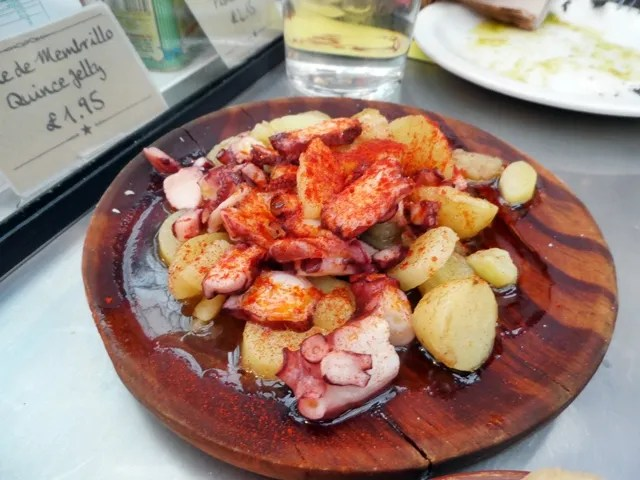 Octopus and Potato with Paprika